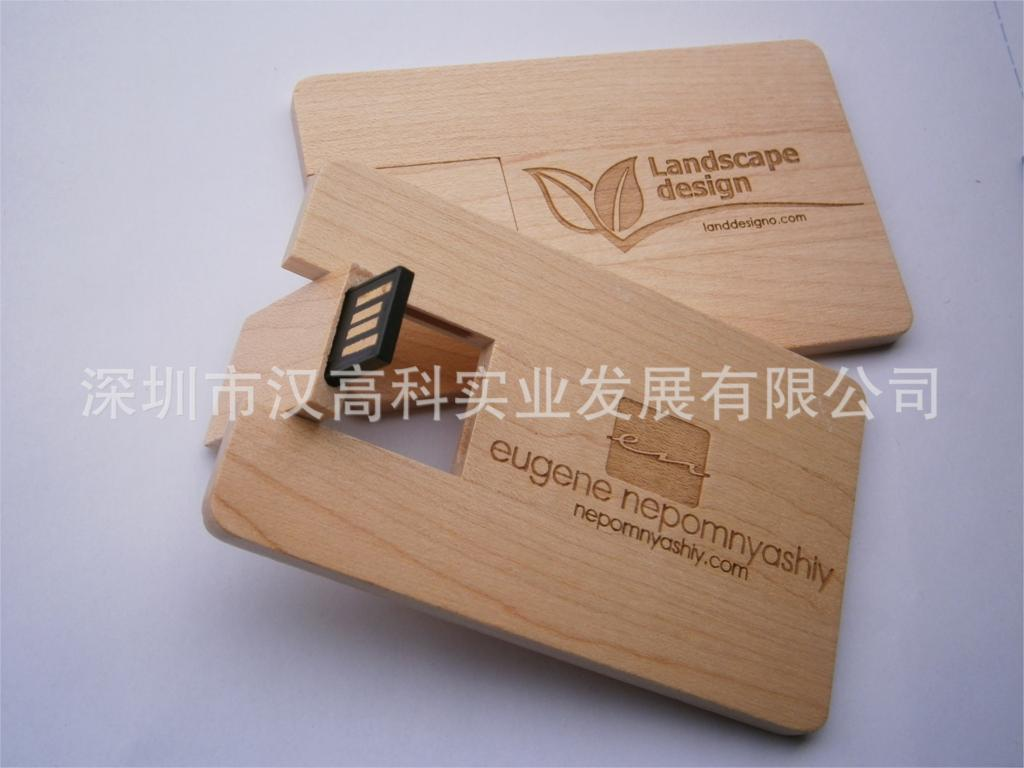 Wood , bamboo , wood walnut advertising card U disk black colloidal U disk automatically play advertising(China (Mainland))