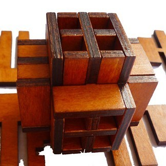 Adult children educational toys Interlocked Kongming lock Chinese Wooden Games Toy Gift