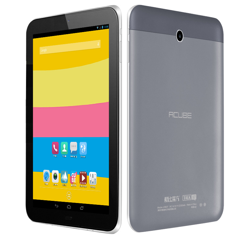 Original Cube U59GT-C4 9.7 inch MTK8382 Quad Core PC Tablet 1GB 8GB Android 4.2.2 3G Phone Call Tablet PC(China (Mainland))