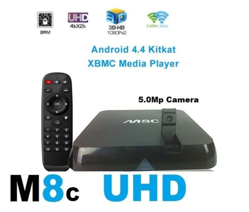M8C TV Box UHD 4K Cortex-A9 Android 4.2 SMART TV BOX Media Player HDMI WIFI KODI 14.2(China (Mainland))