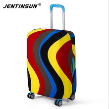 Apply To 18-30'' Luggage Suitcase Protective Cover Dustproof Elastic Thick Luggage Protector Case Cover Travel Accessories(China (Mainland))