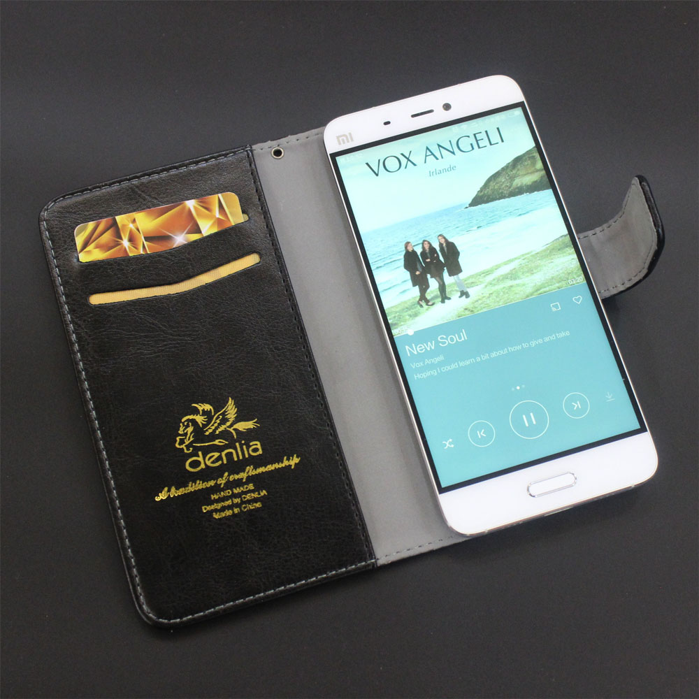 TOP New! Nomi i503 Case 5 Colors Flip Slip-resistant Leather Case Exclusive Phone Cover Credit Card Holder Wallet+Tracking(China (Mainland))
