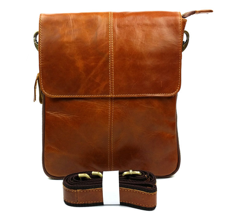2015 New 100% Guarantee Genuine Leather Men Bag High Quality Natural Cowskin Men Messenger Bags Vintage Shoulder Crossbody Bag <br><br>Aliexpress