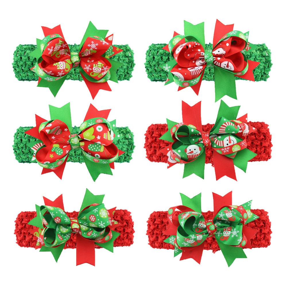 New baby ornaments - The New Baby Christmas Ornaments Europe Korea Wire Fishtail Hair Band Foreign Hot Baby Jewelry Wholesale