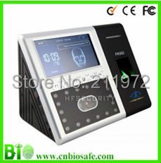 "Biometric Face Reader Fingerprint Time Attendance System HF-FR302 4.3"" Touch Screen,Infard Camera(China (Mainland))"