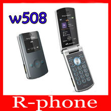 W508 Original Sony Ericsson W508 Unlocked Mobile Phone 3G 3.2MP Bluetooth MP3 Player Free Shipping(China (Mainland))
