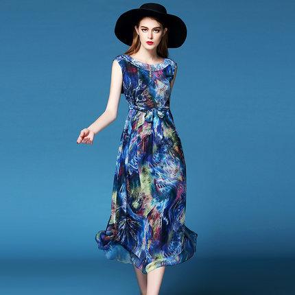 Silk Dresses nz Clothing Silk Print Dress
