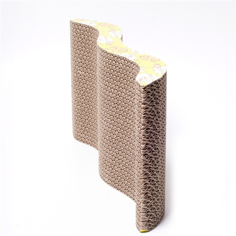 wholesale dealer 8c342 ab88b corrugated paper cat scratch board toy mats pot grinding claw play mat  scratching posts for cats pet products toys accessories - us544