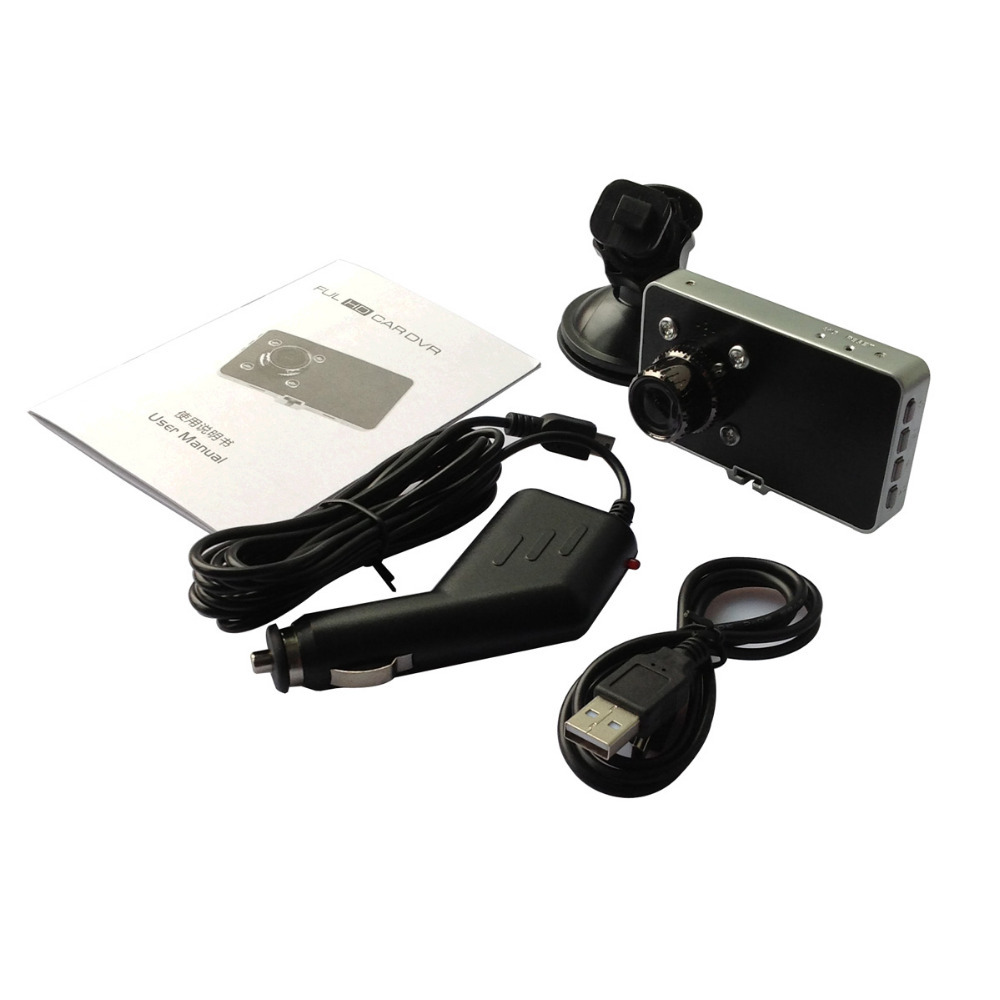 New Hot universal simple install Full HD 1080 No border 3.0 TFT screen Night Vision G-sensor Microphone car video recorder DVR(China (Mainland))