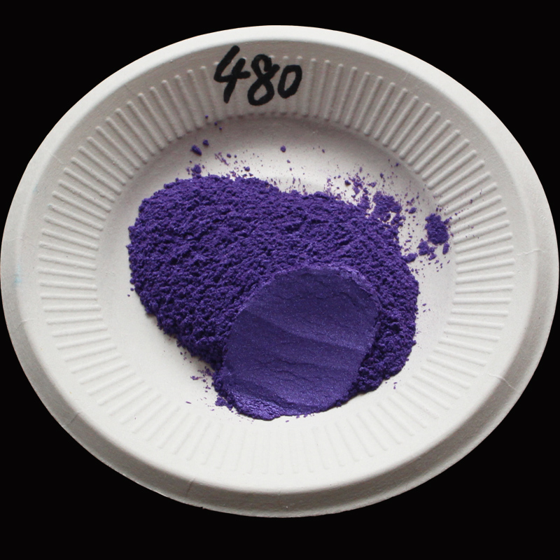 Type 480 Purple Pigment Pearl powder dye ceramic powder paint coating Automotive Coatings art crafts coloring for leather(China (Mainland))