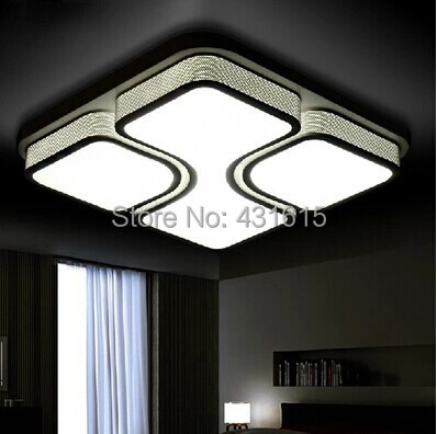 ceiling light ac85v 220v modern led dining room lights square ceiling