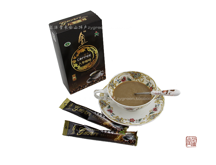 Jin Lihua activity Ginseng coffee Changbai mountain specialty instant cafeteira espresso wholesale cafetera 2015