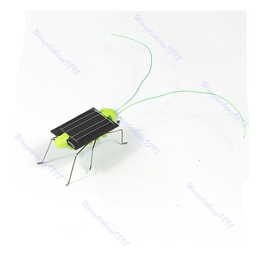 Solar Power Robot Insect Bug Locust Grasshopper Toy Fun(China (Mainland))