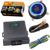 New push start button start/stop car engine function working with car alarm system and remote central lock blue color back light