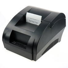 freeshipping  black USB Port 58mm thermal Receipt pirnter POS printer low noise.printer thermal(China (Mainland))