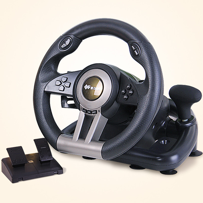Lima shida v3ii Analog learn to drive simulation automobile race Need for Speed computer game steering wheel pc vibration(China (Mainland))