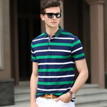 New 2016 Summer Luxury Business Mens Polo Shirt Brands Logo Short Sleeve Casual Sportswear Breathable Small Horse Polo Homme