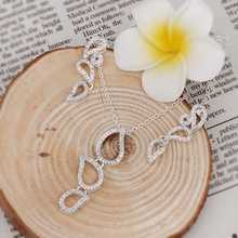 Free Shipping Hot New Fashion silver plated jewelry sets   Factory Wholesale(China (Mainland))