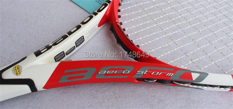 Top Quality New Aero Storm Tennis Racket 100% Carbon Fiber GT Tennis Racquets Equipped With String And Bag(China (Mainland))