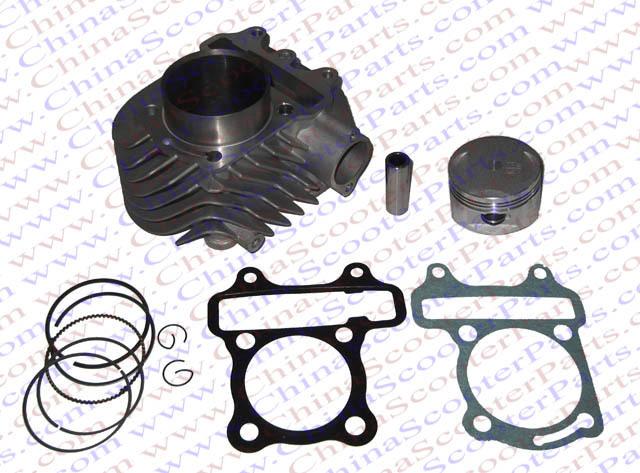 52 4mm Cylinder Piston Ring Gasket kit Super Glod font b GY6 b font 125CC Kazuma