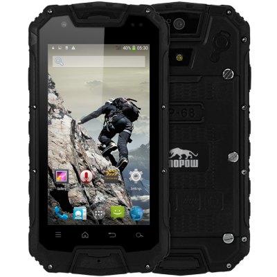 Snopow M9 Android Outdoor Phone Waterproof IP68 4.5'' IPS Screen MTK6589M Quad Core 1GB 4GB 3G WCDMA PTT 4700mAh Battery 8.0MP(China (Mainland))