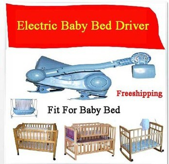 Electric Baby Bed/Baby Swing Driver Electric Cradle/Rocker Electric Cot/Baby Freeshipping(China (Mainland))