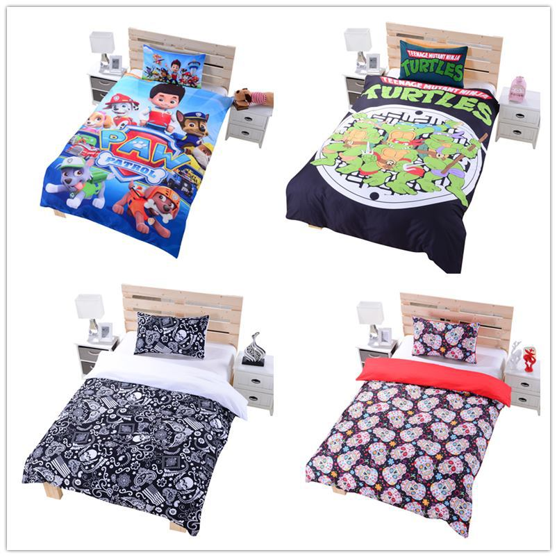 paw patrol single bedding 2