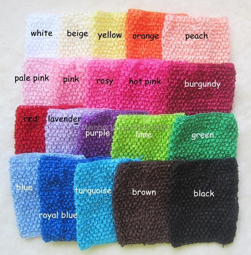 2014 New Baby Girl 9Inch Crochet Tutu Tube Tops Chest Wrap Wide Crochet headbands 20colors 20cm X 23cm 10pcs/lot(China (Mainland))
