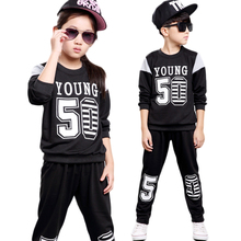 boys clothing set girls clothing children sport suit girls clothes suits for boys tracksuit autumn 2016 kids clothes child set