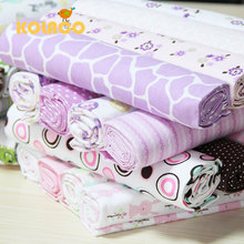 free shipping Wrapped The Newborn Baby Cloth/baby Cotton Sheets/cloth/package / 102 X76cm Four Suits(China (Mainland))