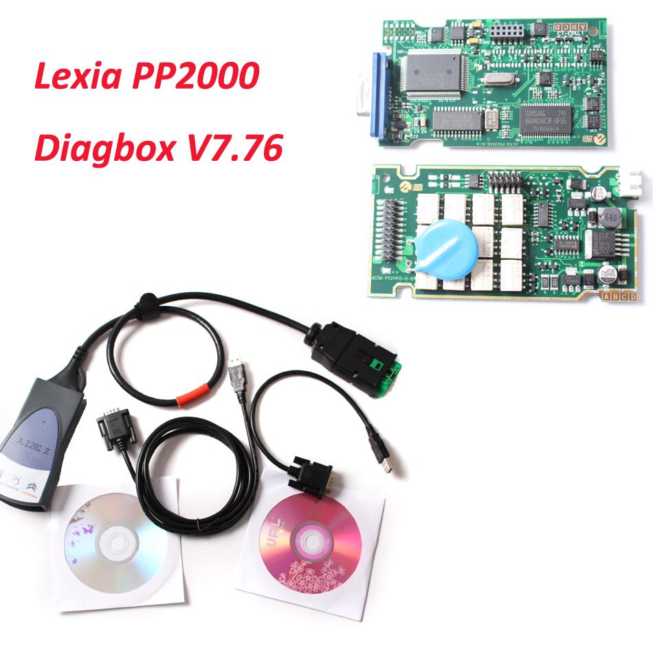 A 1281.Z stickers!!! 921815C Firmware Lexia3 PP2000 V48/V25 Lexia 3 Diagbox 7.76 For Citroen For Peugeot Pp2000 Diagnostic Tool(China (Mainland))