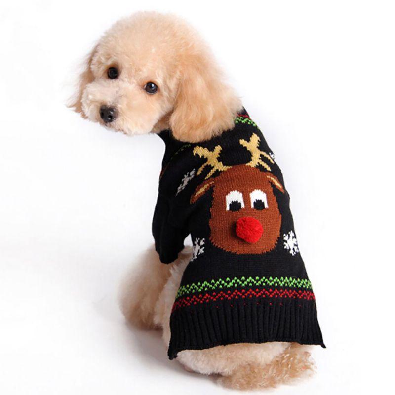 H M Reindeer Sweater 1 pcs Xmas Reindeer Pe...