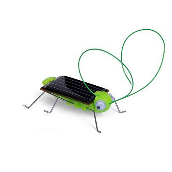 Solar Power Energy Crazy Grasshopper Cricket Kit Toy(China (Mainland))