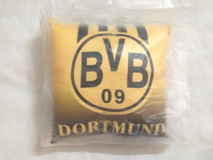 Free shipping BVB dortmund Pillow Cushions Supplies For Household In The Car football Fans(China (Mainland))