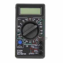 Buy 2017 NEW Mini LCD Digital Multimeter Buzzer Voltage Ampere Meter Test Probe DC AC APR06_17 for $3.66 in AliExpress store