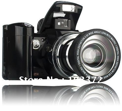 """CPAM Free Shipping Popular Flash Camera 12.0MP(software),5.0CMOS Sensor,2.4""""TFT LCD,8X Digital Zoom,TV Out,Wide-angle Lens,510T"""