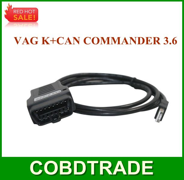 ! VAG Commander 3.6 Diagnostic Interface via CAN K+CAN COMMANDER K-line high qaulity