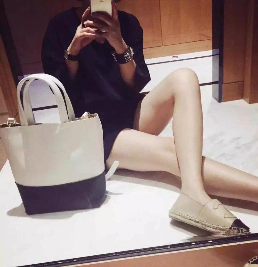 Black and white hit color portable big bag commuter bag pu leather fashion shoulder bags soft dating handbag lady shopping bag(China (Mainland))