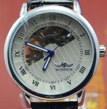 Ganador reloj mecánico tabla para hombre corriente de marea de moda completamente automática j209