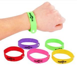 300PCS/Lot Free Shipping GREENLUCK Mosquito repellent bracelets Mosquito repellent bands Mosquito Killer(China (Mainland))