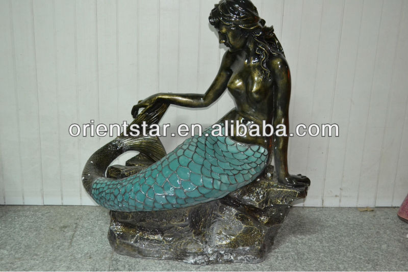 Seating Mermaid Light in Blue Color ,Beautiful Mermaid Light ,Beauty Light, Floor Light<br><br>Aliexpress