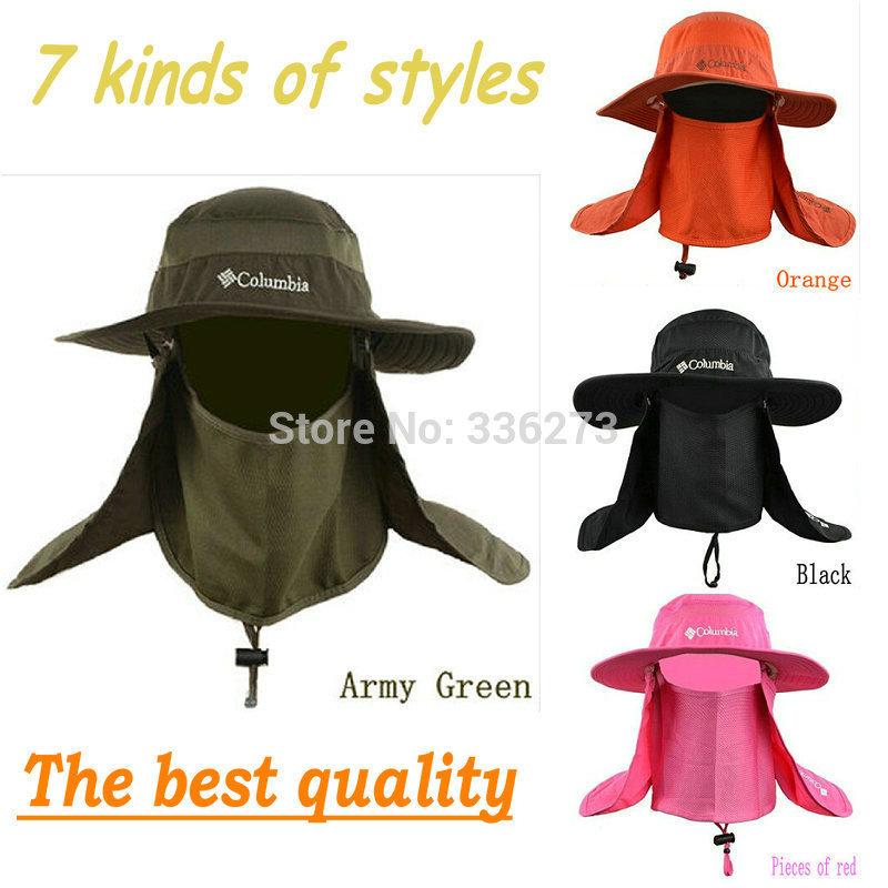produto Beanies Hats Beanie Flat Real Multifunctional Unisex Outdoor Hat Fishinghikingjunglesunbonnet Fashion Fisherman Caps 7 Colors