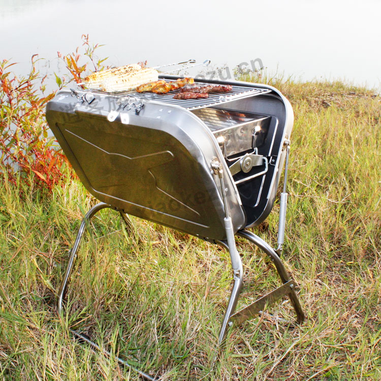 protable Charcoal BBQ grill,multifunction BBQ grill,outdoor charcoal BBQ grill(China (Mainland))