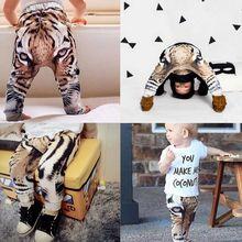 Tiger Baby Boys Girls Harem Pants Trousers Kids Toddler Bottoms Slacks Sweatpant