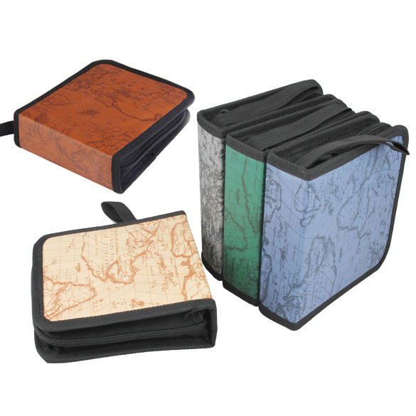 40 CD DVD Disc Storage Holder Dustproof Carry Case Organizer Sleeve Wallet Cover Bag Box PTSP(China (Mainland))
