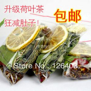 360g 30bags Lemon Lotus Leaf Tea Rose Hawthorn Natural Herbal Tea Flower Tea Slimming Beauty Healthy Green Food Weight  Loss Tea<br><br>Aliexpress