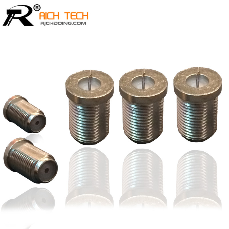 3PCS/LOT METAL F JACK TO MCX MALE PLUG RETAIL RF COAXIAL CONNECTOR ADAPTER STRONG PERFORMANCE INTERNATIONAL STANDARD(China (Mainland))