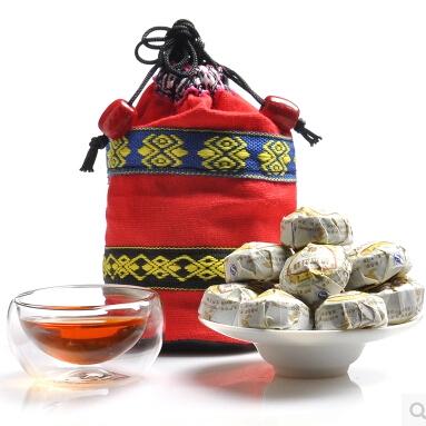 Гаджет  Chinese Puerh tea Osmanthus tea mini Bowl Puer Ripe Tea pu er Cake Healthy 10pcs None Еда