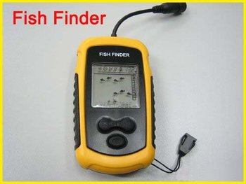 Free Shipping (DHL EMS) Sonar Sensor Fish Finder Alarm Transducer brand new  5pcs/lot