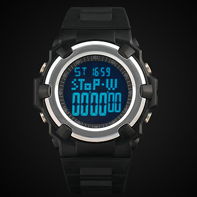 men military sports watches digital wristwatches altimeter temperature weather forecast world time 24 cities function(China (Mainland))